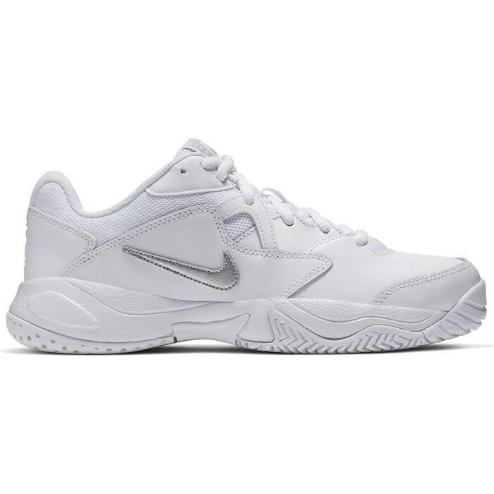 Tennisschoenen dames Nike Court Lite wit