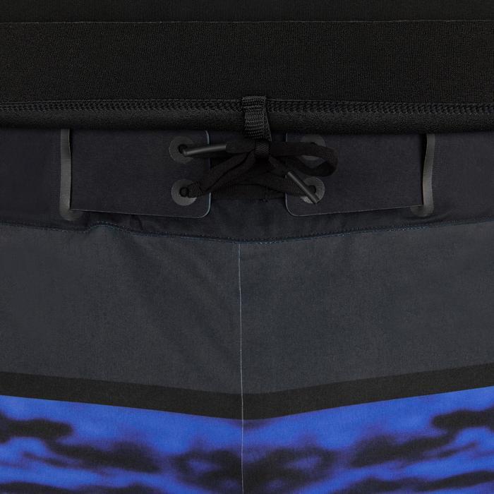 男款2 mm氯丁橡膠(neoprene)衝浪上衣900-黑色