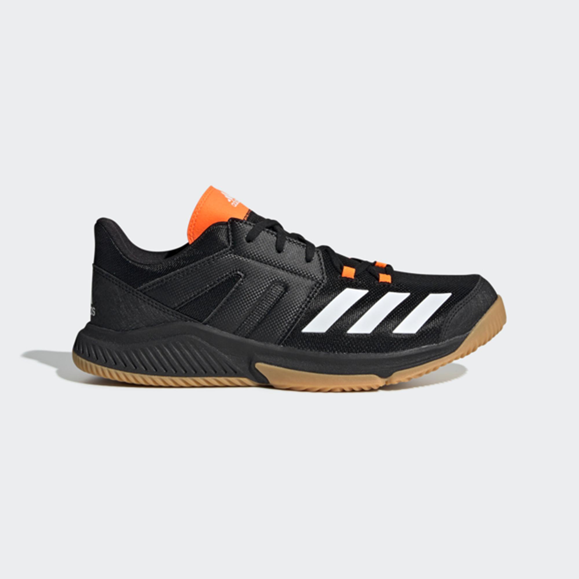 Handballschuhe Essence Erwachsene schwarz/orange | Schuhe > Sportschuhe > Handballschuhe | Adidas