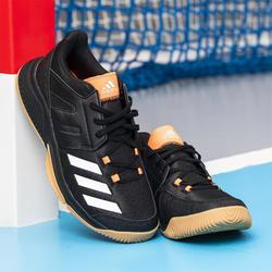 Chaussures de handball adulte essence noir orange
