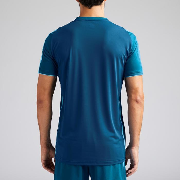 成人款足球上衣F540-藍色