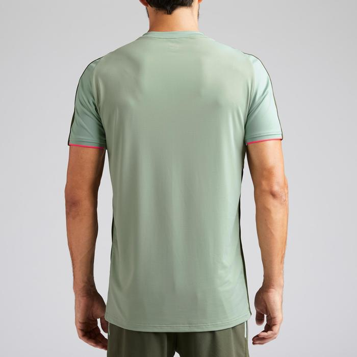 Voetbalshirt voor volwassenen F540 grijsgroen ALLEEN ONLINE