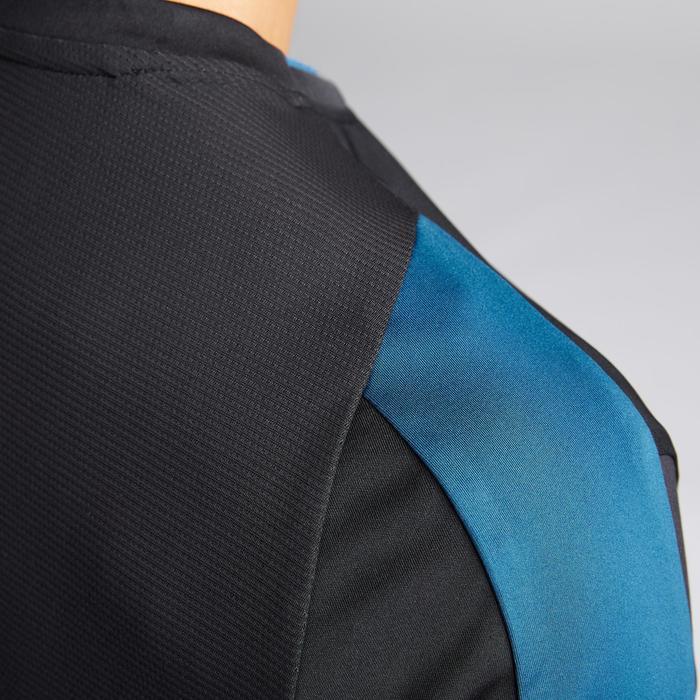 成人款足球上衣F540-黑色