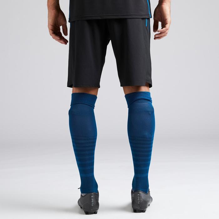 Voetbalbroekje met binnenbroek F540 TRX zwart/blauw