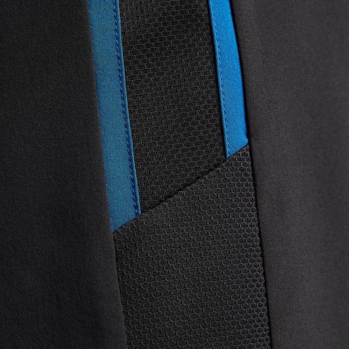成人款3合1足球短褲F540-黑色