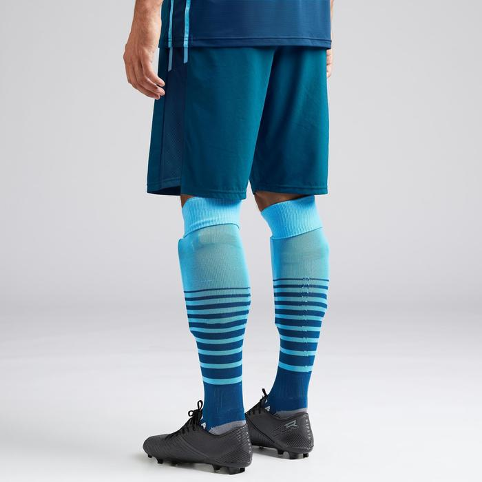 Short de football adulte 3 en 1 F540 bleu de pétrole