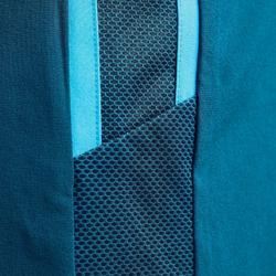 Voetbalbroekje met binnenbroek F540 TRX petroleumblauw