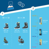 Универсальные детские ботинки для сноубординга с быстрой затяжкой Indy 500