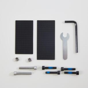 site support sav decathlon kit de reparation porte bagages 500 tige de selle