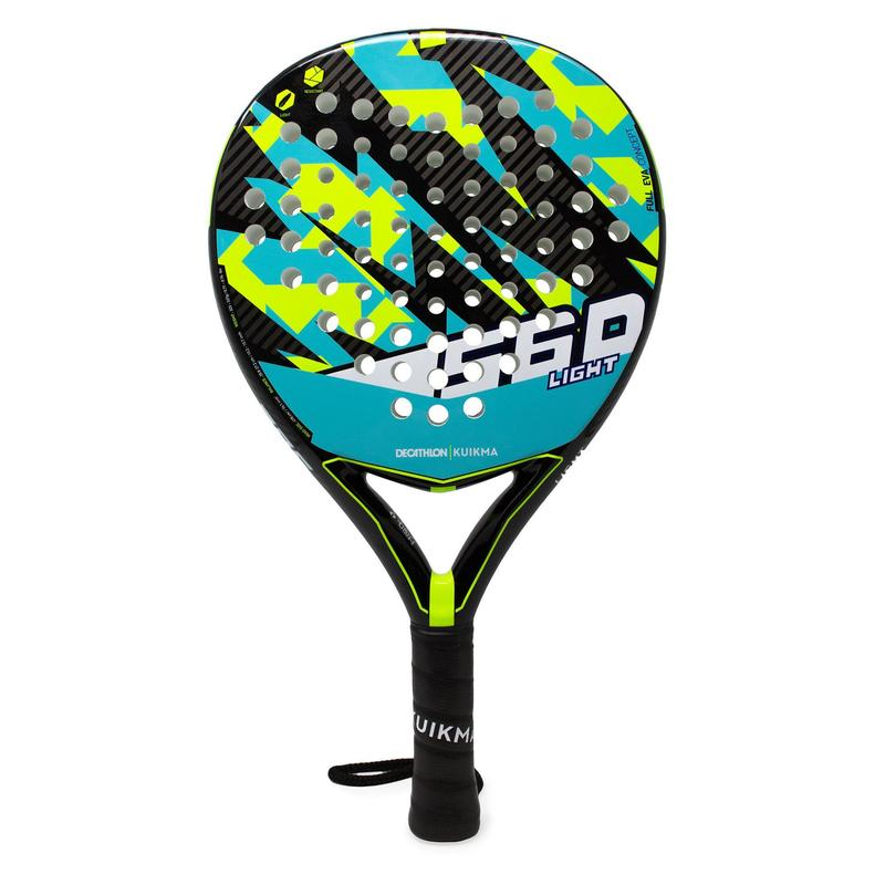 RAQUETTE PADEL PR 560 LIGHT Bleu Jaune JUNIOR