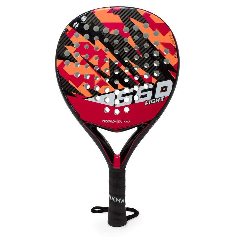 RAQUETTE PADEL PR 560 LIGHT Bleu Rose JUNIOR