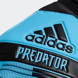 Keeperhandschoen voetbal Predator volwassenen blauw