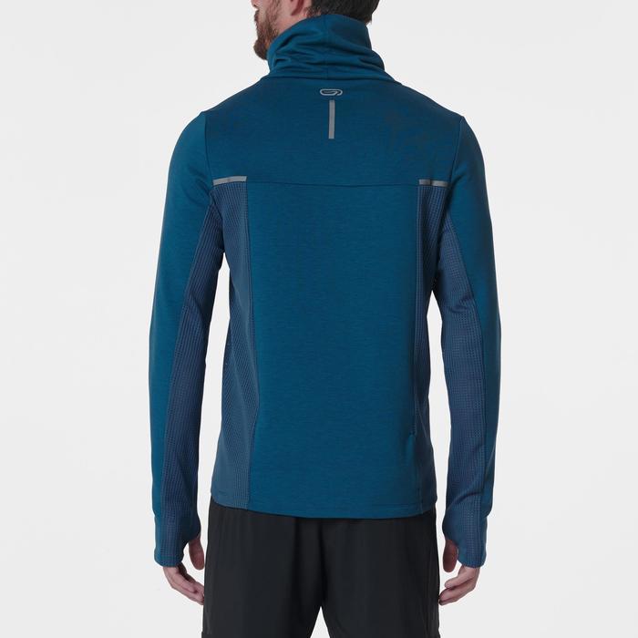 Laufsweater Run Warm+ Herren blau