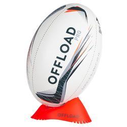 Tee rugby bas R100 orange