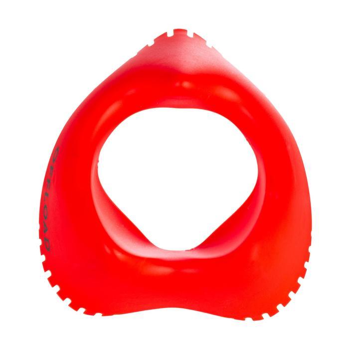 架高彈性球座 - 橘色
