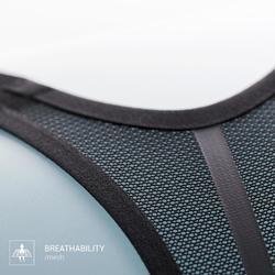 Sport-BH Bustier Komfort schwarz
