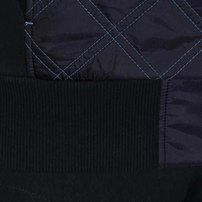 Reit-Sweatjacke 500 Damen marineblau/lavendel