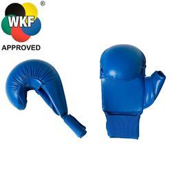 Karate-Handschuhe Faust blau