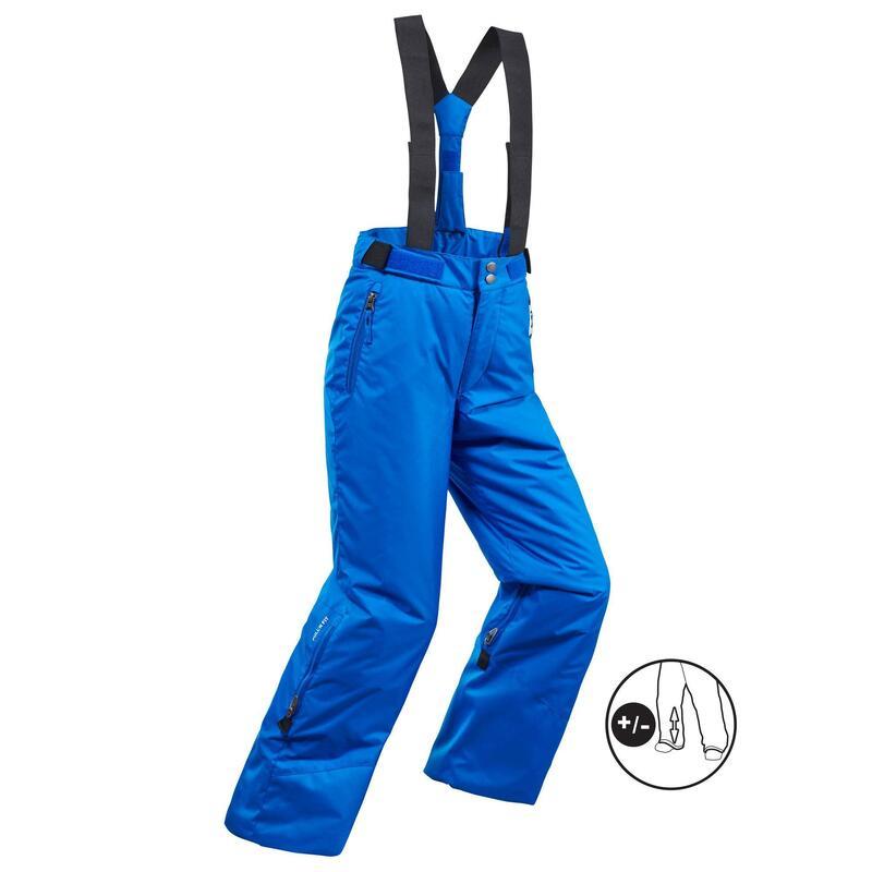 Pantalones de Esquí y Nieve Niños Wedze Ski-P 500 Azul