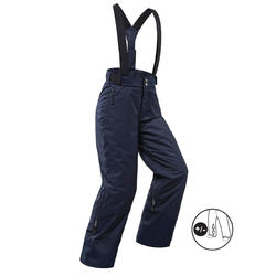 CHILDREN'S SKI TROUSERS PNF 500 - NAVY