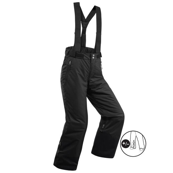 Skibroek voor kinderen PNF 500 zwart