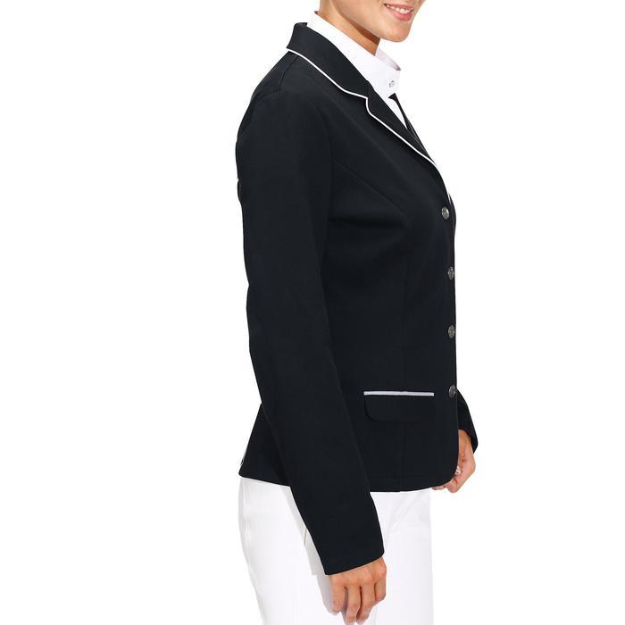 Veste de Concours équitation femme COMP100 bleu roi - 174237