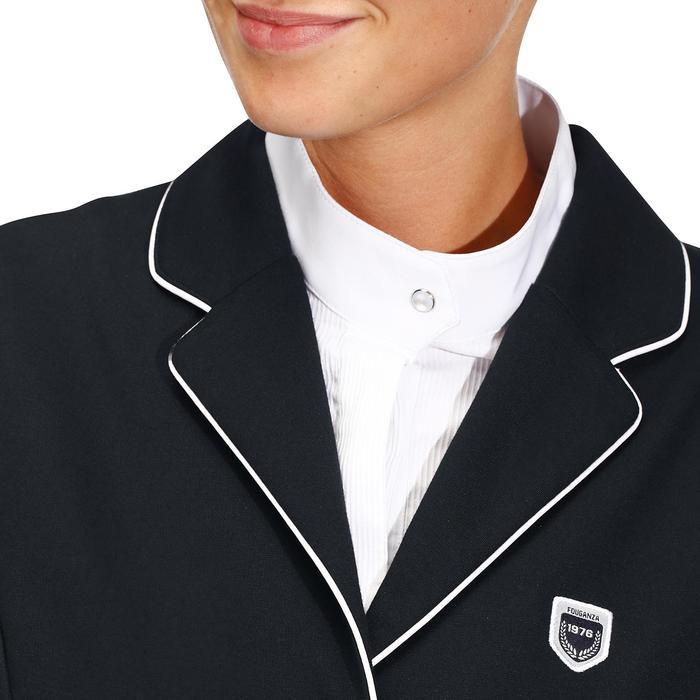Veste de Concours équitation femme COMP100 bleu roi - 174243