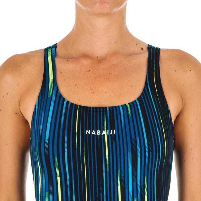 Sportbadpak voor zwemmen dames chloorbestendig Kamiye all line