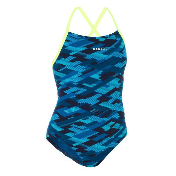 Sportbadpak voor zwemmen dames chloorbestendig Jade All Rain