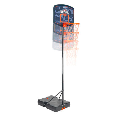 Kids' Basketball Hoop B200 Keep Playing1.6m-2.2m. Up to age 10