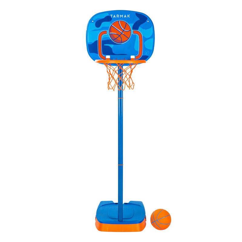 Basketbalpaal voor kinderen K100 Ball blauw 0,9 tot 1,2 m. Tot 5 jaar
