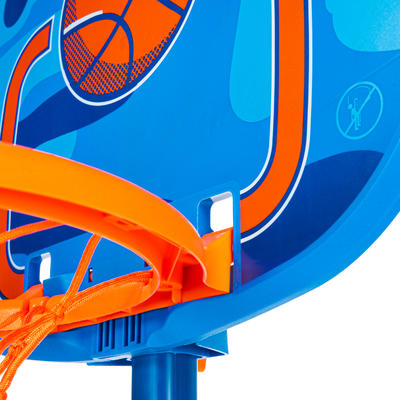 Kids' Basketball Hoop K100 - Ball Blue. 0.9m to 1.2m. Up to age 5.