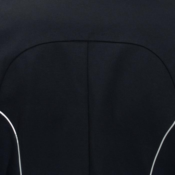 Wedstrijdjasje voor dames ruitersport Comp 100 marineblauw