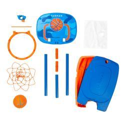 Panier de basketball pour enfant K100 Ball bleu. 0,9m à 1,2m. Jusqu'à 5 ans.