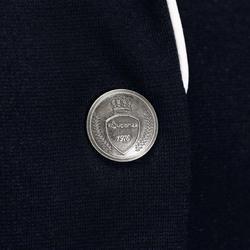 Wedstrijdjasje Paddock voor dames ruitersport marineblauw - 174252