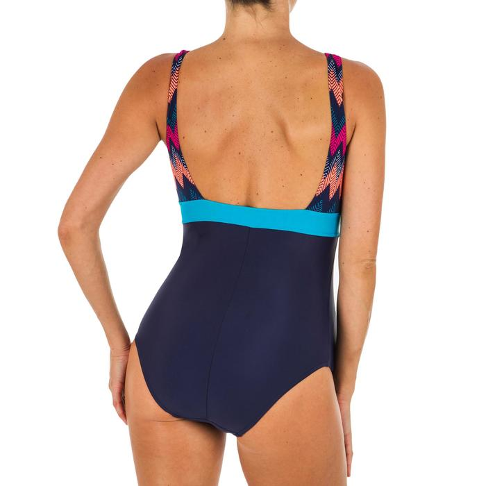 Zwangerschapsbadpak voor zwemmen Romane all cheve marineblauw