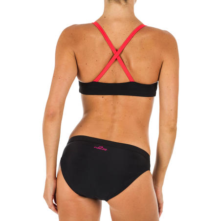 Women's Swimming Swimsuit Top Riana - Gabo Black