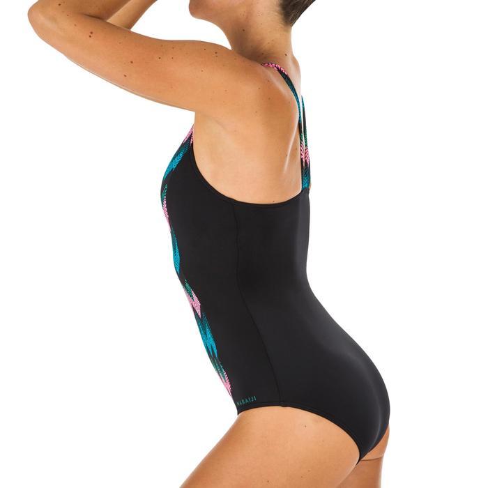 Sportbadpak voor zwemmen dames Vega all cheve zwart