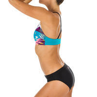 Women's Swimming Swimsuit Top Riana - Sunset Blue