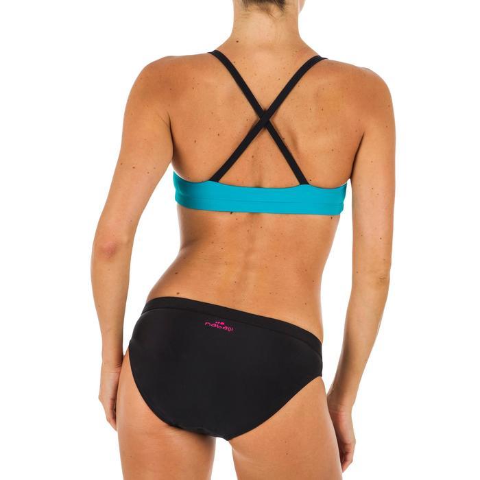 Bikinitop voor zwemmen dames Riana sunset blauw