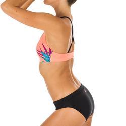 Bikinitop voor zwemmen dames Riana Jungo koraal