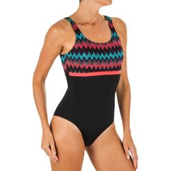 Sportbadpak voor zwemmen dames Heva li all cheve zwart