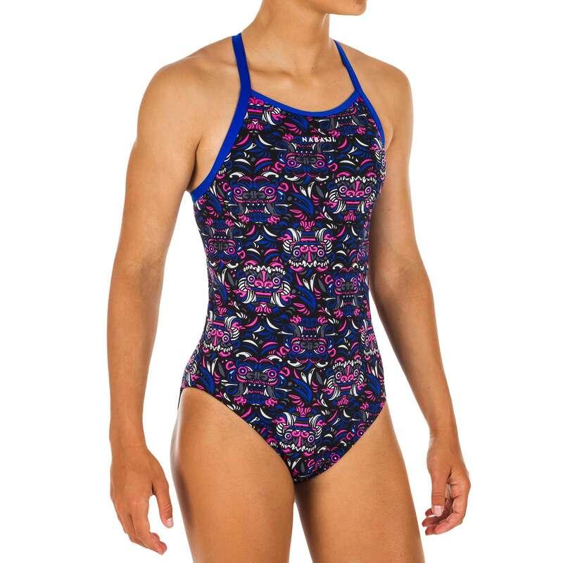 Kislány úszódressz Úszás, uszodai sportok - Lány úszódressz Jade All Mask  NABAIJI - Babaúszás, gyermek úszás, úszástanulás