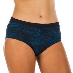 Bikinibroekje voor zwemmen meisjes chloorbestendig Kamyleon Sea