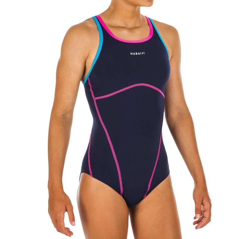 Kislány úszódressz Úszás, uszodai sportok - Lány úszódressz Kamiye+ 500 NABAIJI - Babaúszás, gyermek úszás, úszástanulás