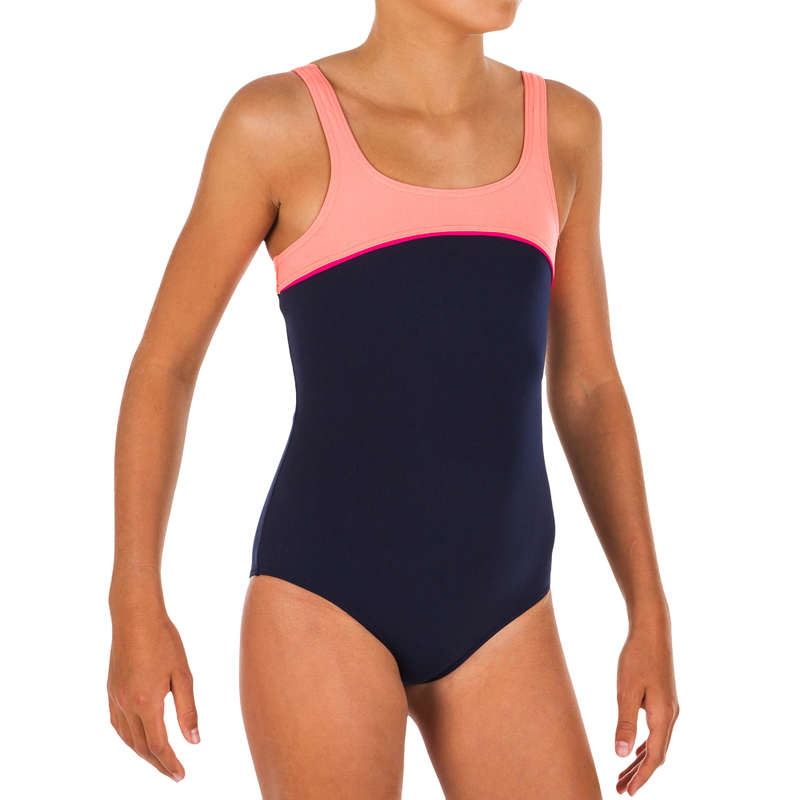 Kislány úszódressz Úszás, uszodai sportok - Lány úszódressz, Tais NABAIJI - Babaúszás, gyermek úszás, úszástanulás