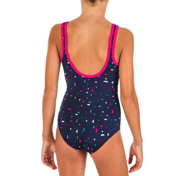 Badpak voor meisjes Heva+ All Star marineblauw