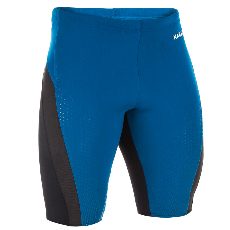 กางเกงว่ายน้ำทรงแจมเมอร์สำหรับผู้ชาย (สีน้ำเงิน/ดำ)