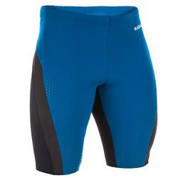 Calções de natação - fit - homem azul/preto