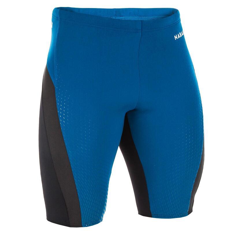 Zwemjammer voor heren Fit blauw/zwart